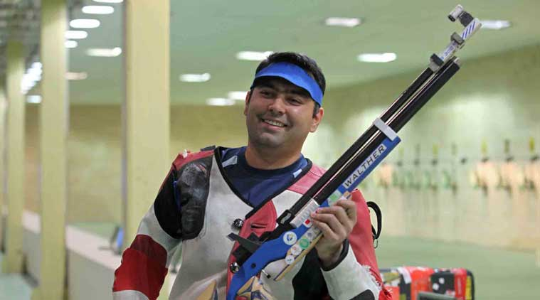 Gagan Narang, All India Digvijay Singh Memorial Air Rifle Championships, Shooting news, Indian Express