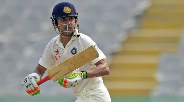 Ranji Trophy 2017: Gautam Gambhir scores 100 as Delhi chase Karnataka's mammoth first innings total