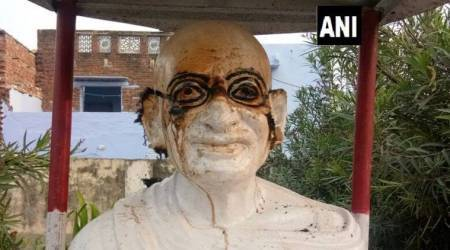 Mahatma Gandhi's bust set on fire in Madhya Pradesh's Morena, case registered