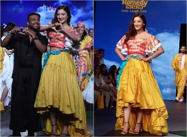 India beach fashion week photos, ibfw 2017 images, ibfw goa 2017 pics, esha gupta pics, rocky s, gauhar khan pictures, kiara advani, vikram padhnis, ibfw 2017 photos, ibfw celebs, fashion news, lifestyle news, indian express