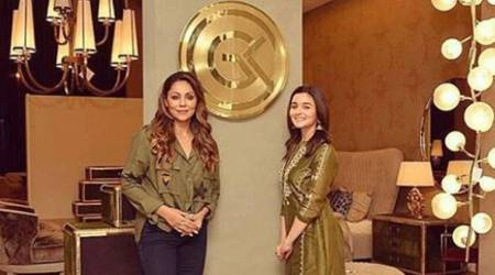 What's new at the Gauri Khan store? A sparkling Alia Bhatt