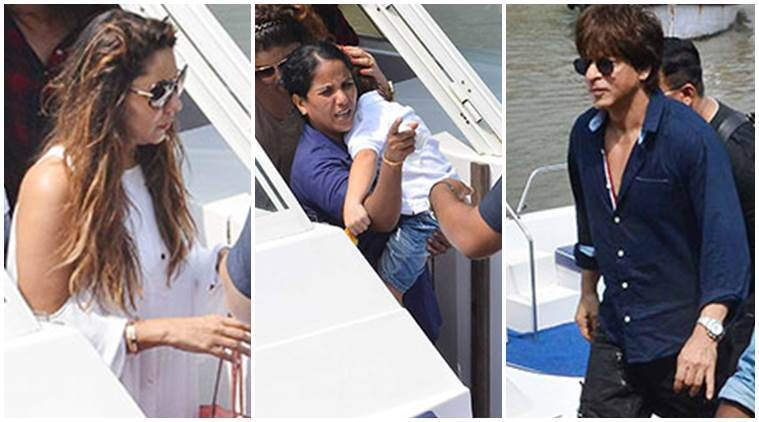 Gauri Khan, Gauri Khan birthday celebrations, Shah Rukh Khan, Shah Rukh Khan photos, abram, abram latest photos
