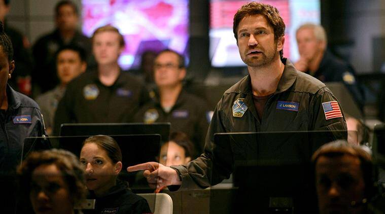 geostorm movie review, geostorm review, gerard butler, gerard butler geostorm, geostorm movie,