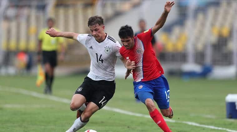 FIFA u 17 world cup, fifa u 17 wc, Germany vs Costa Rica, Germany u 17 team, Football news, Indian Express