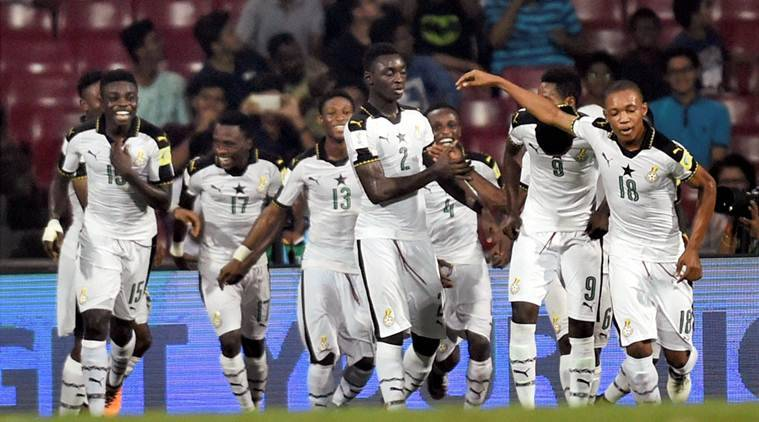 fifa under 17 world cup, fifa u17 wc, ghana vs niger, ghana vs niger fifa u17 world cup, football news, indian express