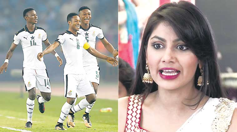 ghana football team, ghana u17 team, fifa under 17 world cup, fifa u17 wc, Ghana football, TV serial Kumkum Bhagya, Ghana under-17 football team, Kumkum Bhagya, FIFA World Cup, Indian TV serial Kumkum Bhagya, ekta kapoor, football news, sports news, indian express