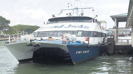 What is Gujarat's Ro-Ro ferry service?