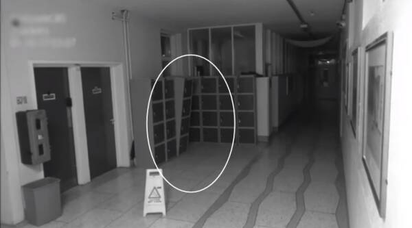 ghost in school, ghosts caught on camera, ghosts in Ireland school, ghost in school hallway, indian express, indian express news