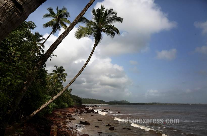 Goa, goa coal industry, Goa Coal block images, Karnatka coal, JSW, goa coal, goa coal pictures, goa pictures, goa coal corridor, coal industry goa, indian express, indian news, latest news, indian express