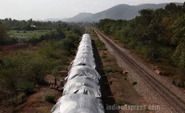 Goa, goa coal industry, Goa Coal block images, Karnatka coal, JSW, goa coal, goa coal pictures, goa pictures, goa coal corridor, coal industry goa, indian express, indian news, latest news, indian express