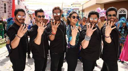 golmaal again, golmaal, golmaal review, golmaal again review, ajay devgn, tabu, parineeti chopra, tusshar kapoor, kunal kemmu, shreyas talpade, arshad warsi