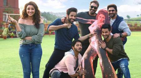 golmaal again, golmaal again box office, Golmaal Again box office collection day 10, golmaal again performance, golmaal again numbers, Ajay Devgn, Tabu, Parineeti Chopra, Arshad Warsi, Tusshar Kapoor, Shreyas Talpade, Kunal Khemmu,