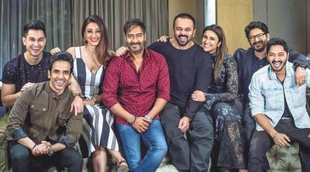 golmaal again, golmaal again total collection, golmaal again box office records, rohit shetty, ajay devgn, golmaal again images