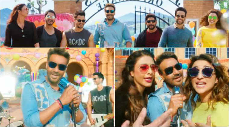 golmaal again, ajay devgn, parineeti chopra, golmaal again new song, golmaal songs, golmaal again songs, hum nahi sudhrenge,
