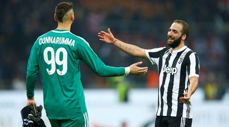 Gonzalo Higuain, higuain, napoli, juventus, serie a, football, sports news, indian express