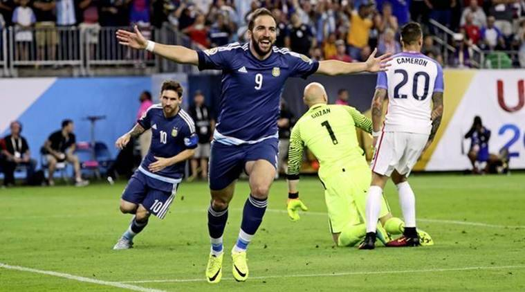 Gonzalo Higuain, Argentina, Lionel Messi, Higuain, Messi, World Cup 2018, Russia World Cup, Football news, Indian Express