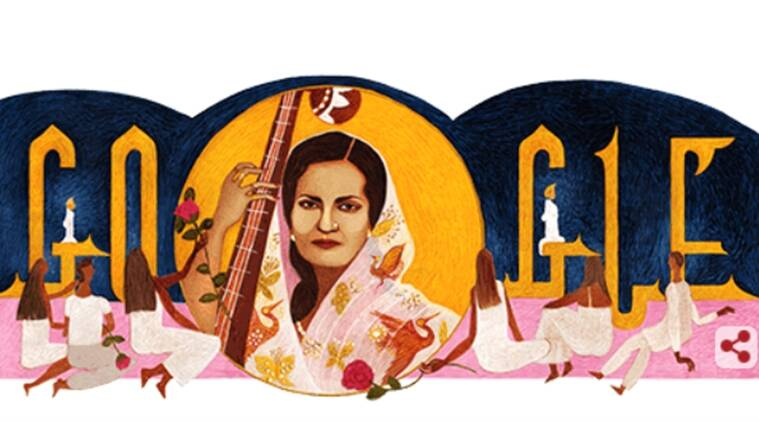 Google Doodle Celebrates Begum Akhtar S 103rd Birth Anniversary
