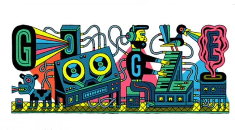 Studio for Electronic Music's 66th anniversary celebrated with a Google doodle