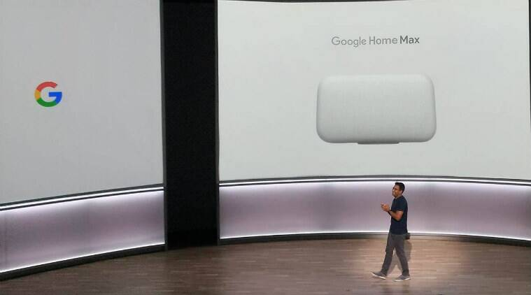 Google Home, Google Home Max, Google Home specifications, Google Home launch, Google Home price, Google Home availability, Google Home Max price, Google Home Max availability, Google Home Max features, Google smart speakers, Google Assistant, Assistant Google Home, Google Home new speakers
