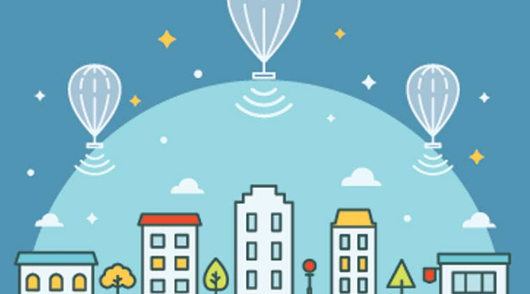 google loon, google project loon, microsoft white spaces, project white spaces, google internet project, balloon-powered internet, Google loon internet, Directorate General of Civil Aviation, DGCA, Indian civil aviation, civil aviation sector, internet on flights, inflight internet, india news, india internet, indian express, tech news