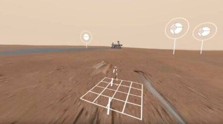 Virtual walk made possible by Google's Access Mars