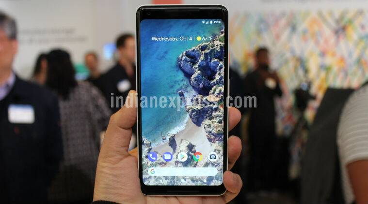 Google Pixel 2 XL Pixel 2 XL screen burn-in issues Screen burn-in Screen burn-in Pixel 2 XL screen burn-in OLED OLED Pixel 2 XL price in India Pixel 2 XL launch in India Google