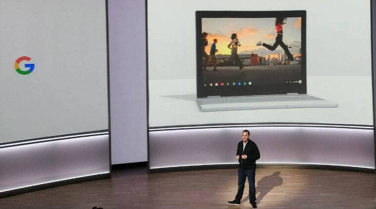 Google PIxelBook, Google event