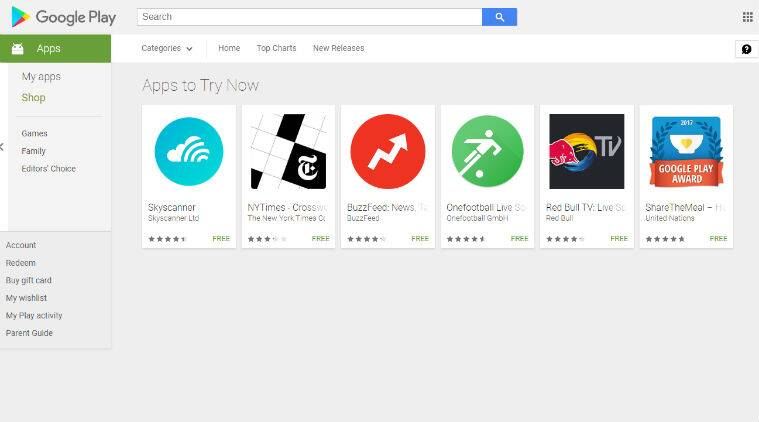 Google Play Console on