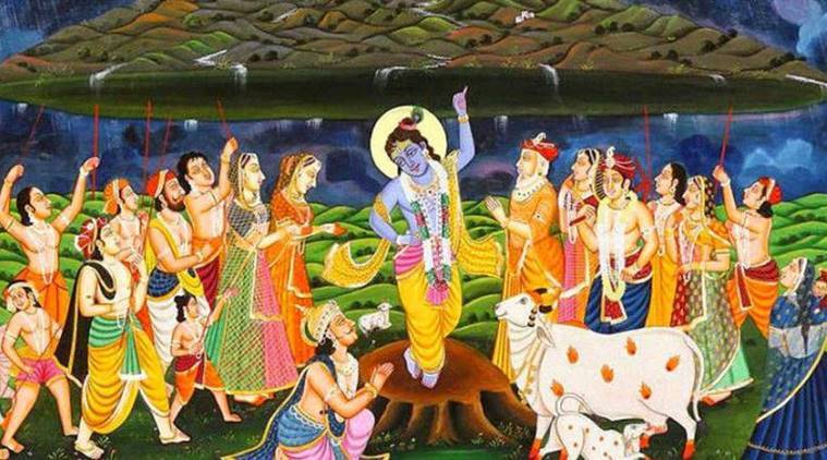 govardhan puja, govardhan puja significance, govardhan puja date, govardhan puja timings, govardhan puja vidhi, govardhan puja ritual, festival, dilwali, indian express