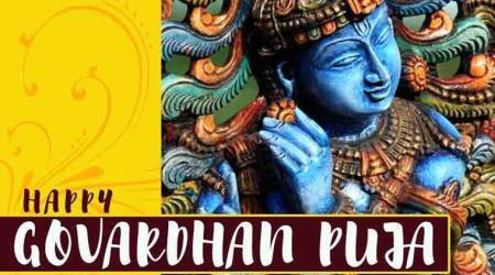 Happy Govardhan Puja: Wishes, Images, Whats App and Facebook Status; Messages, Quotes, Greetings, Wallpapers,Cards