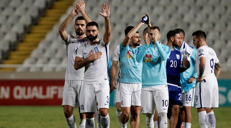 2018 FIFA World Cup, Greece vs Cyprus, Pieros Sotiriou, Bosnia and Herzegovina