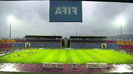 FIFA U 17 world cup, FIFA u17 World cup semifinal, Brazil vs england, Brazil u 17 team, England u 17 team, Guwahati, Kolkata, Salt Late Stadium, football news, Indian Express