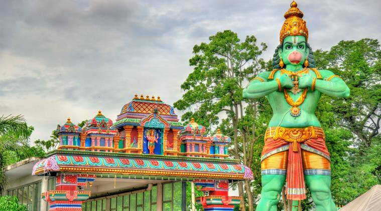 Locals foil encroachment of Hanuman temple in Srinagar | India ...