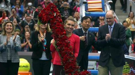 Simona Halep into China Open final; becomes new World No 1