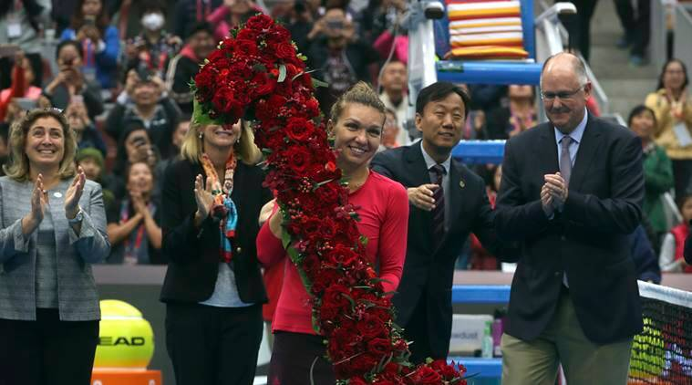 simona halep, karolina pliskova, garbine muguruza, wta finals, wta news, sports news, tennis news, indian express