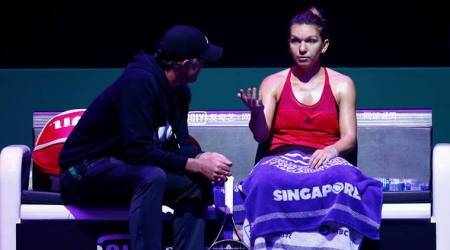 WTA Finals: Simona Halep shakes off disappointment of latest Singapore flop