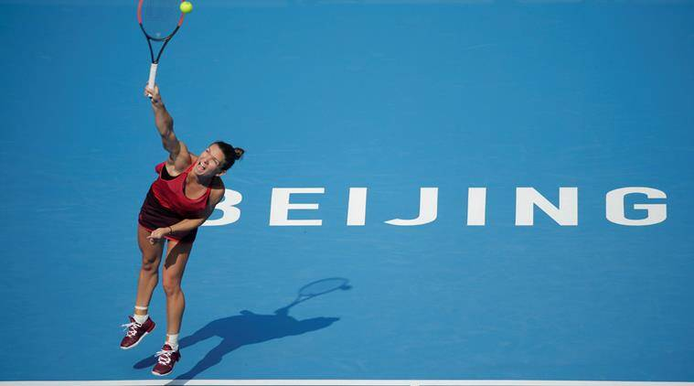 Simona Halep, Halep vs Daria Kasatkina, Sania Mirza-Peng Shua, China Open 2017, Tennis news, Indian Express