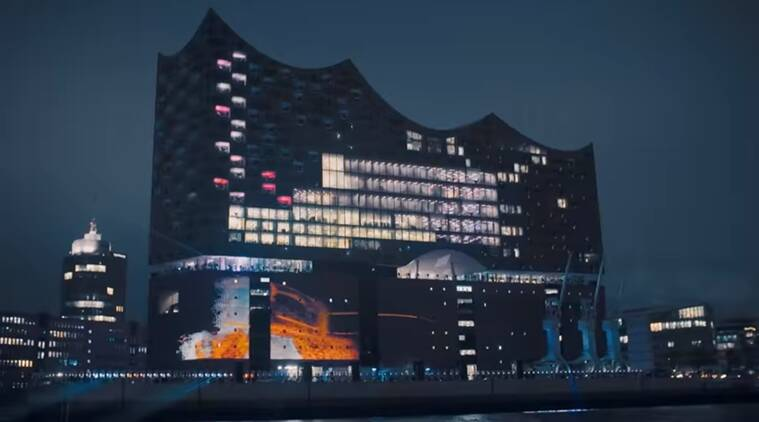 Elbphilharmonie concert hall, Elbphilharmonie concert hall made using algorithm, concert hall designed using algorithm, Indian express, Indian express news