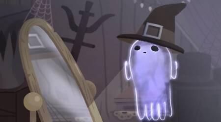 Halloween 2017: Google joins in celebrations with an adorable 'Jinx the ghost'doodle