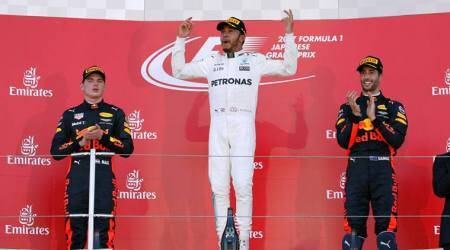 Lewis Hamilton shows Max Verstappen that he's still the man