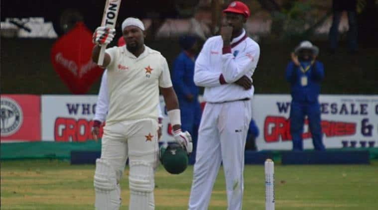 Zimbabwe vs West Indies, Hamilton Mazakadza, Queens Sports Club, Sikander Raza