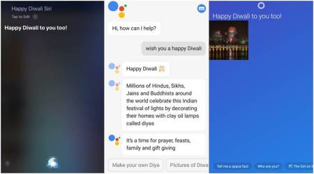 We wished Siri a Happy Diwali…and you won't believe what she said