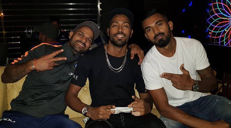 Hardik Pandya, KL Rahul, Shikhar Dhawan, sports news, cricket, Indian Express