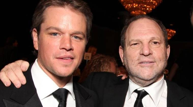 Harvey Weinstein, Harvey Weinstein sexual harassment, Matt Damom