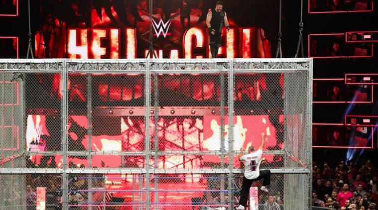 wwe hell in a cell results, hell in a cell 2017