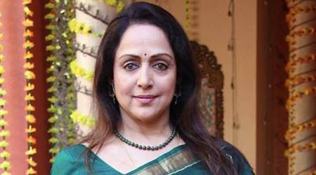 Bull strays into Mathura railway station as BJP MP Hema Malini pays surprise visit