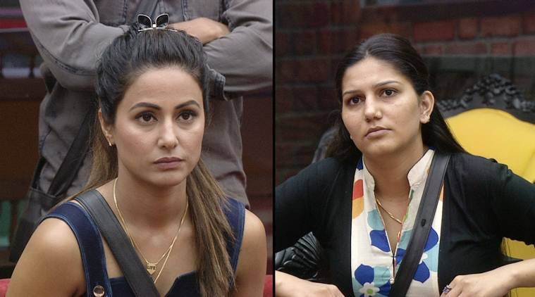 bigg boss 11, bigg boss 11 preview, hina khan, hina khan captaincy, sapna choudhary captaincy, bigg boss 11 captaincy, bigg boss 11 new captain,