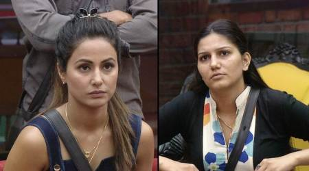 Bigg Boss 11, October 20 preview: Hina Khan-Sapna Choudhary compete to be the next captain of the house