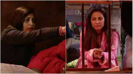 Bigg Boss 11: Arshi Khan to spit on Hina Khan during a fight