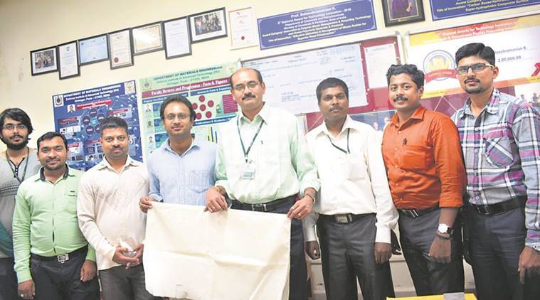 nano-engineered polymer fabric, nano-engineered polymer fabric Defence Institute of Advanced Technology, nano-engineered polymer fabric fire retardant, nano-engineered polymer fabric new discovery, indian express news
